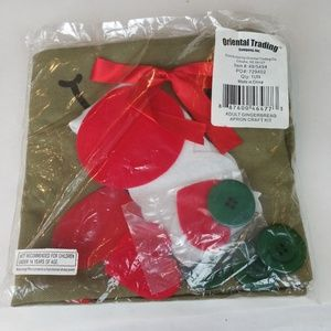 Oriental Trading Accessories - Gingerbread Apron Craft Kit NWT
